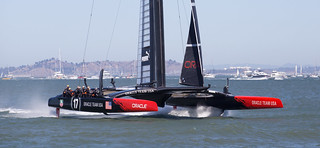 Team USA downwind at twice the speed of the wind | by LBena
