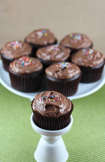 Chocolate Cupcakes with Frosting | by Food Librarian