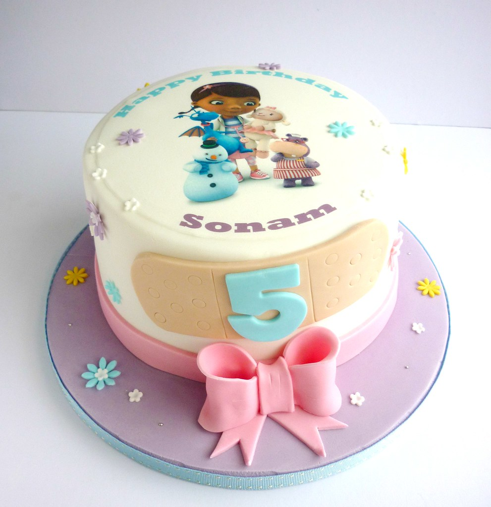 Doc McStuffins birthday cake SwirlsBakery Flickr