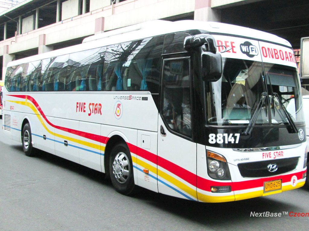 Five Star Hyundai >> Five Star 88147 Pangasinan Five Star Bus Company Bus Numbe Flickr
