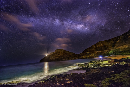 Milky Way Above Makapuu