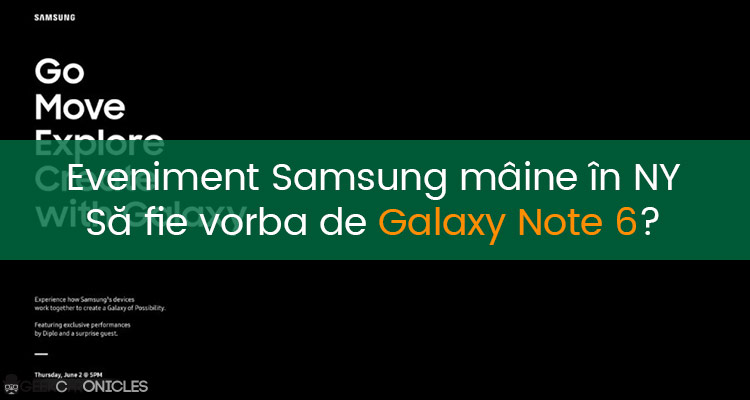 eveniment samsung