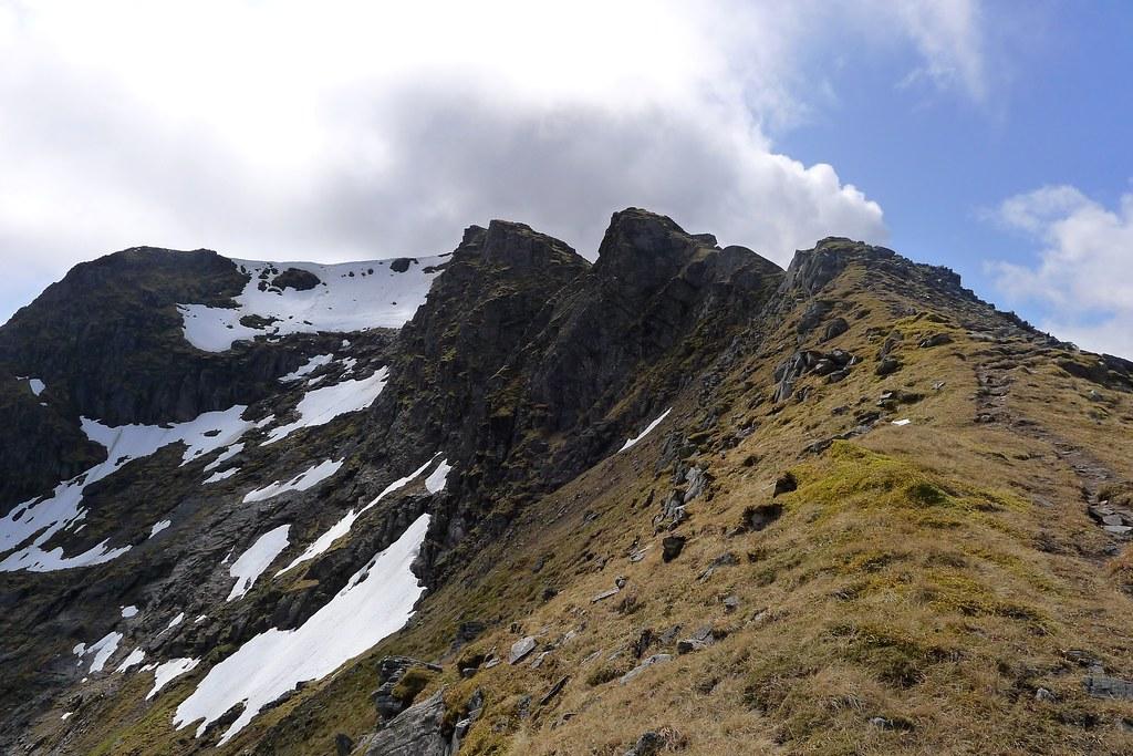 Sgurr nan Clach Geala North Ridge