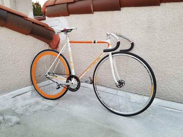 Rooftop Track Bike