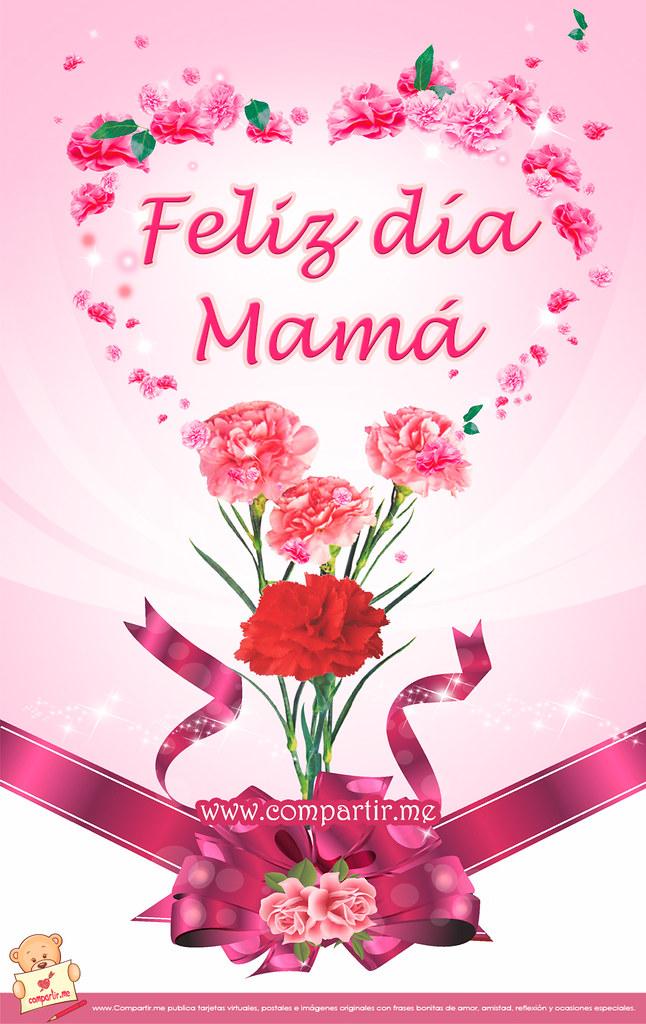 Frases De Amor Postal Con Flores Bonitas Para Dedicar A M Flickr