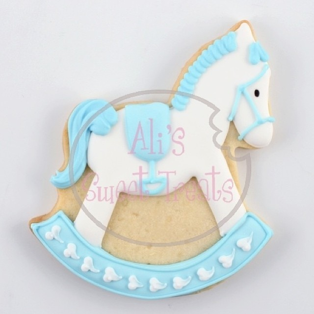 Rocking Horse Cookies Babyshower Favors Cute Sweet B Flickr