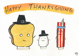 Happy Thanksgiving and Happy Hanukkah | by grickily