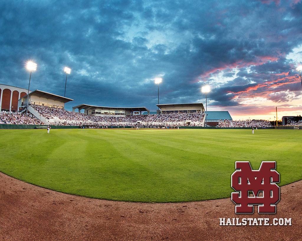Mississippi State Baseball Desktop Wallpaper
