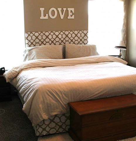 Stenciled Headboard And Bedskirt Design Question Kimbo F Flickr