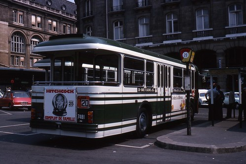 jhm 1976 1553 france paris ratp autobus jean henri manara flickr. Black Bedroom Furniture Sets. Home Design Ideas