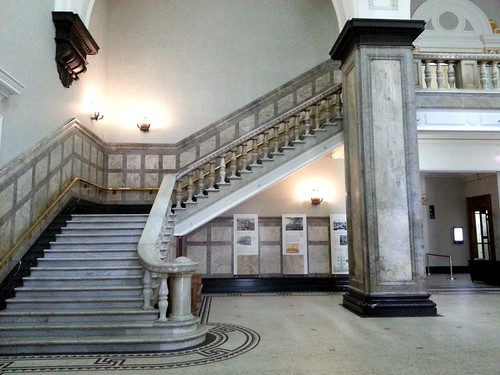Foyer Stairs Qld : Marble staircase in foyer brisbane city hall