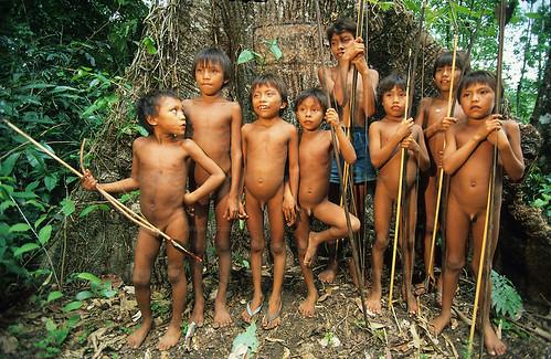 Yanomami indians, Amazon, Brazil