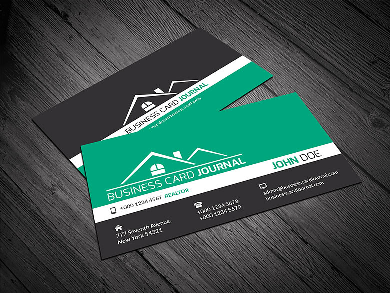 Corporate design realtor business card template download flickr corporate design realtor business card template by meng loong accmission Images