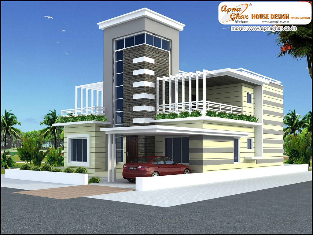 Modern duplex house design for Bangladesh village house design