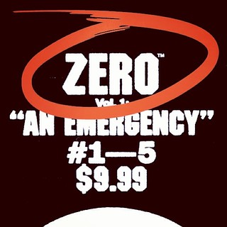 "ZERO Vol.1 ""An Emergency"", collecting issues 1—5. February 19. Preorder now at all good comic & bookstores and Amazon. 