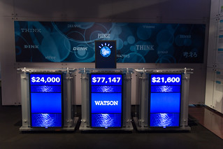 Watson and Two Other Jeopardy Podiums | by Atomic Taco