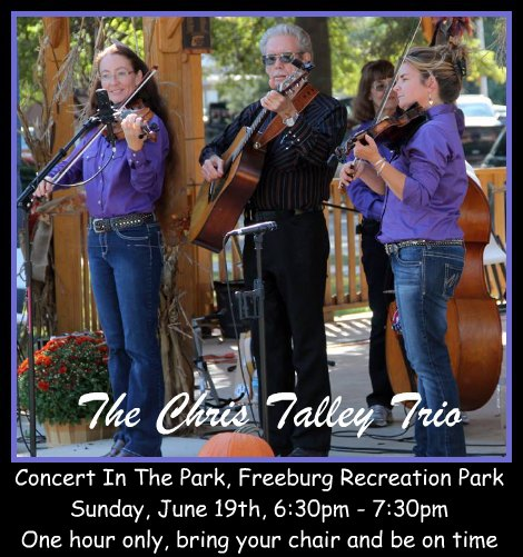 The Chris Talley Trio 6-19-16