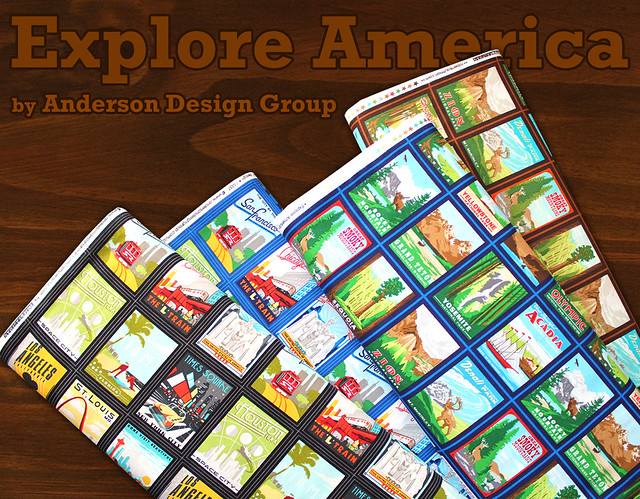 Robert Kaufman Explore America Collection by Anderson Design Group