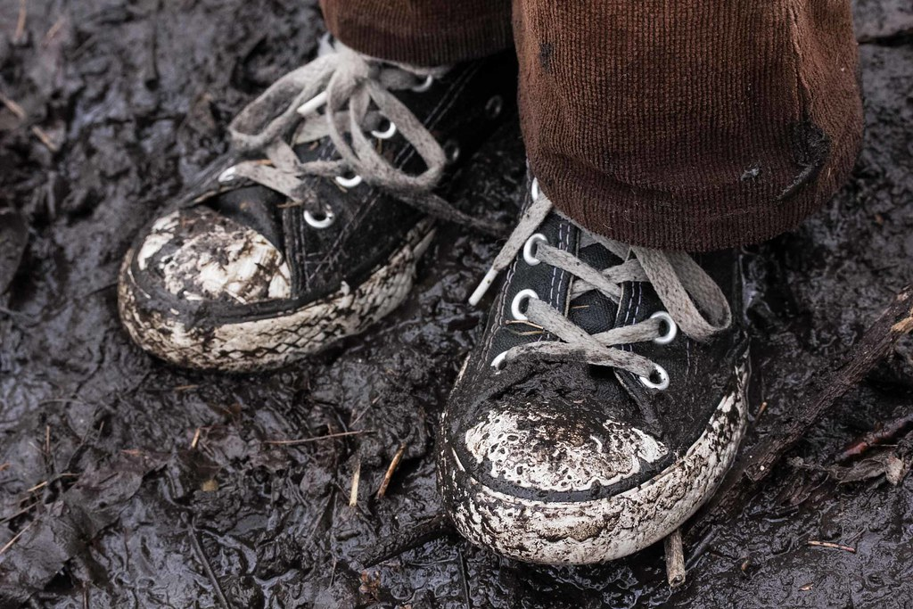 Converse Shoe Chart: Muddy Black Converse Sneakers Corduroy Pants Muddy Hike Hou2026 | Flickr,Chart