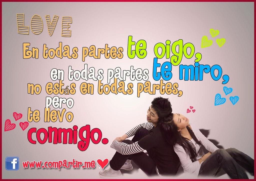 Frases De Amor Tarjeta Con Frase De Amor Para Dedicar O C Flickr