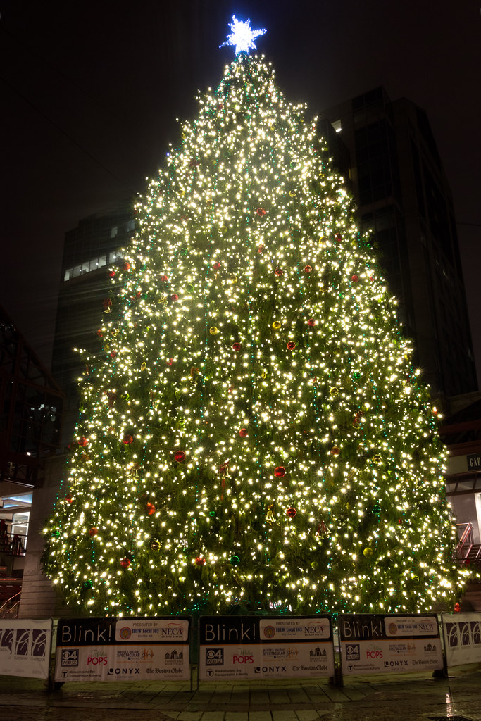 Quincy Market Christmas Tree | Eric Kilby | Flickr