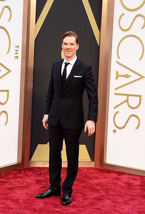 Benedict Cumberbatch Oscars Red Carpet