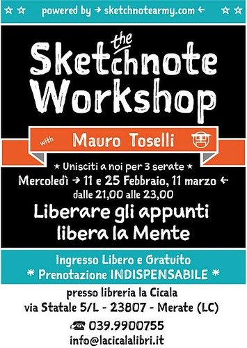 The Sketchnote Workshop Feb 2015 | by xLontrax