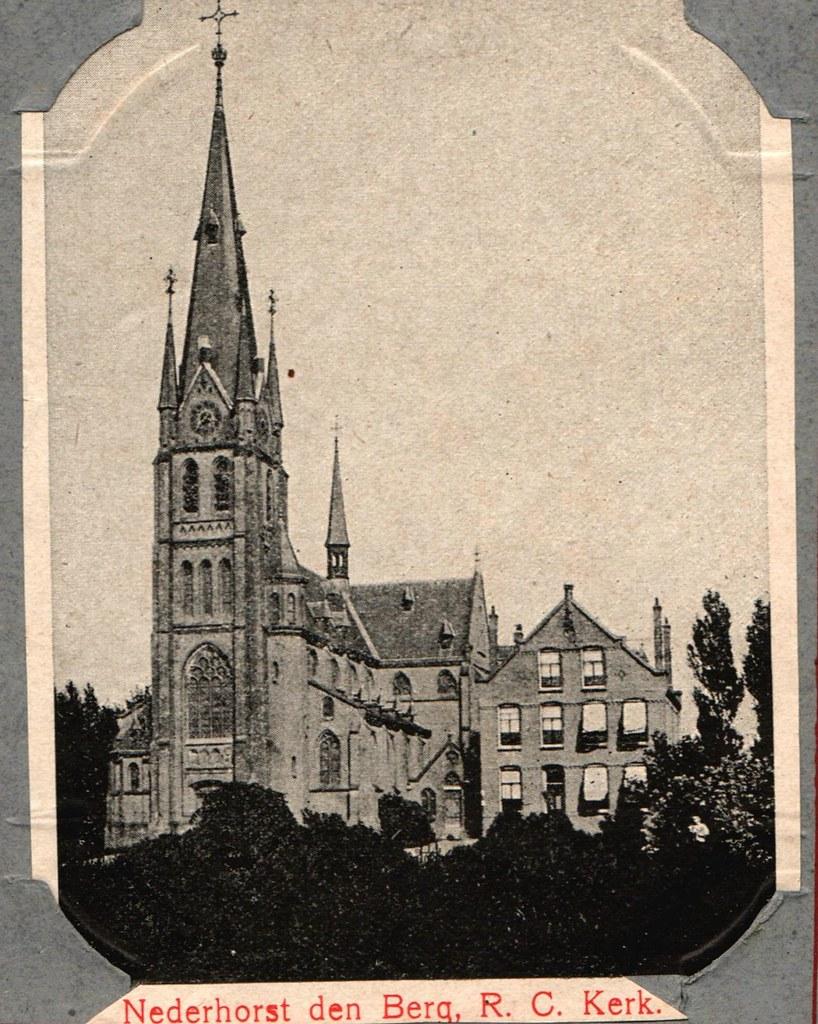 Nederhorst Den Berg Nederland.Mooi Nederland 1908 Nederhorst Den Berg Rk Kerk Janwillemsen Flickr