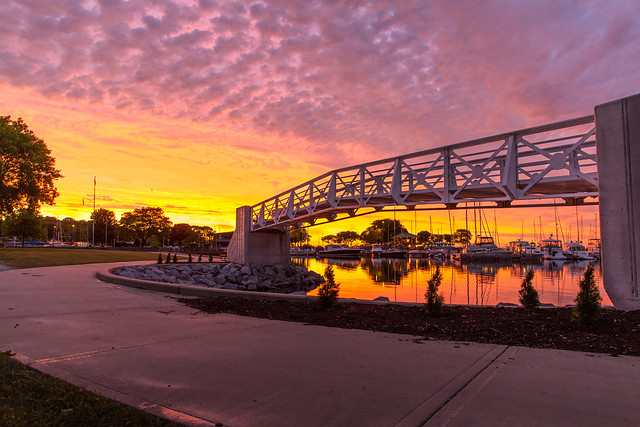 White Bridge Sunrise 2