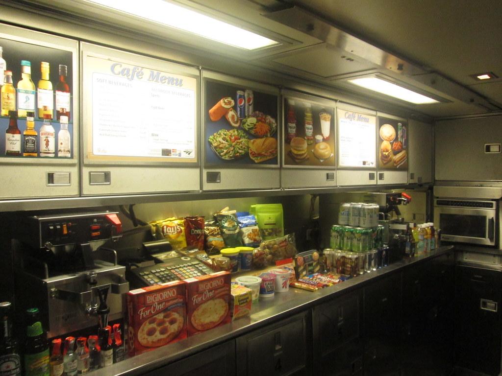 Amtrak Cafe Car Hours