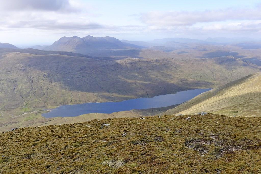 Loch a' Bhraoin from A' Chailleach