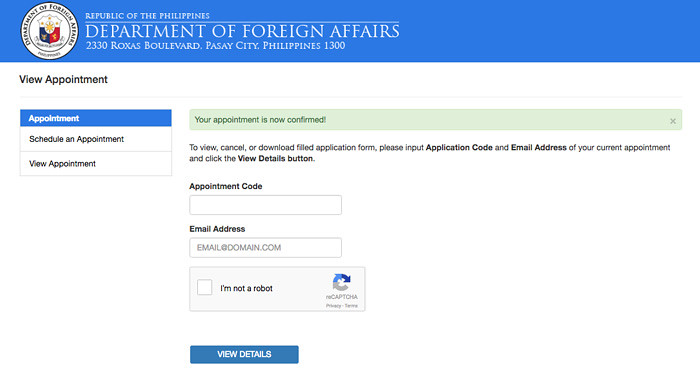 How To Set An Appointment For Passport Application Online In The