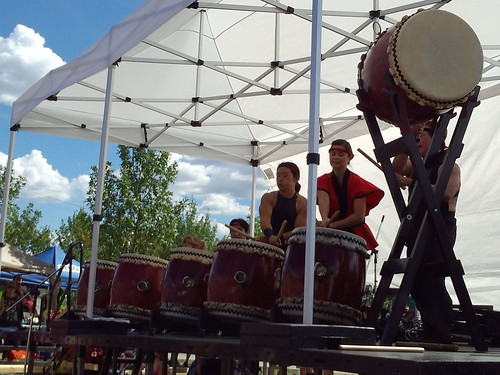 Midnight Taiko Drummers at the Calgary Japanese Festival | by Musespeak