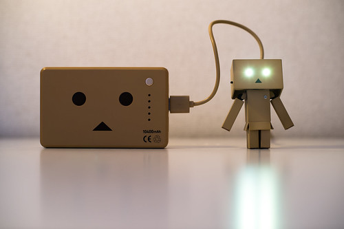 Recharging Danbo Power | by Takashi(aes256)