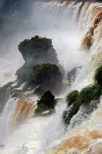 Iguazu Falls in northeast Argentina