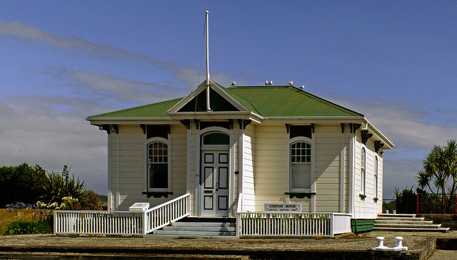 The Customhouse at Hokitika
