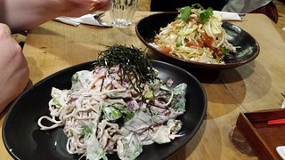 Soba Noodle Salad and Vietnamese Slaw from Yong Green