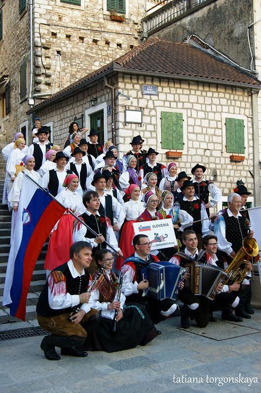 Общий снимок группы из Словении
