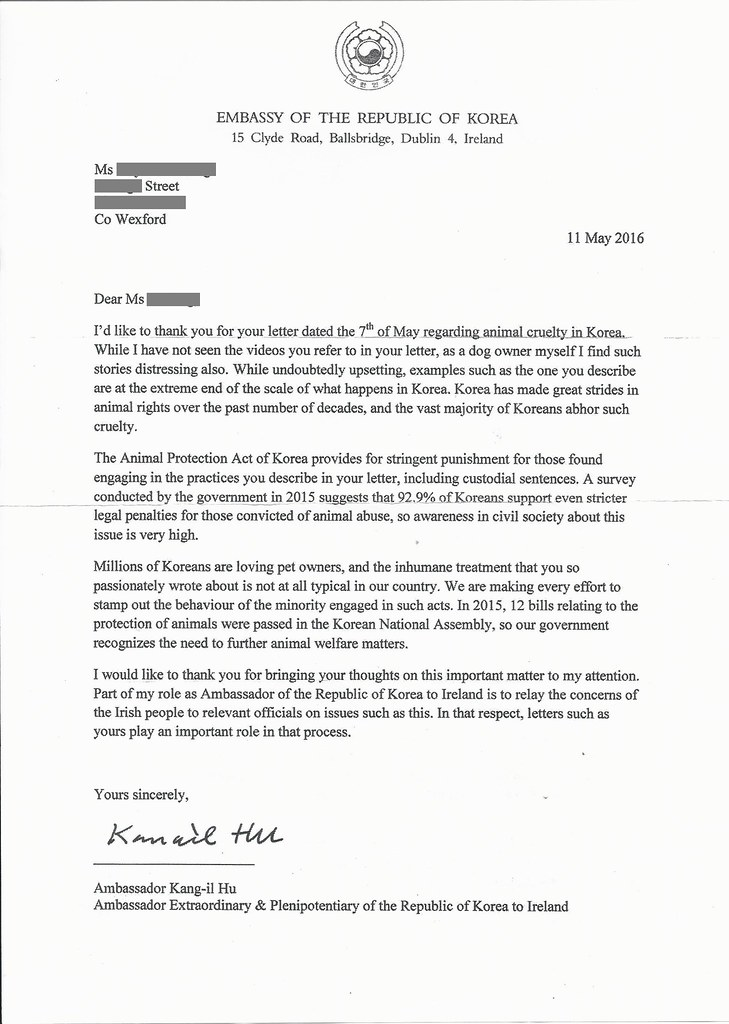 How To Address A Letter Korean Embassy Astar Tutorial