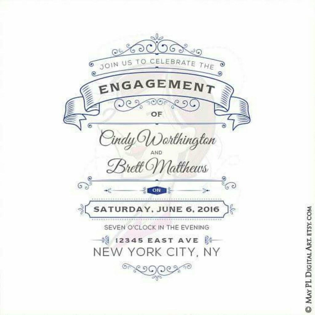 Cobalt Blue Ornate Vintage Frames DIY wedding invites #Cob… | Flickr