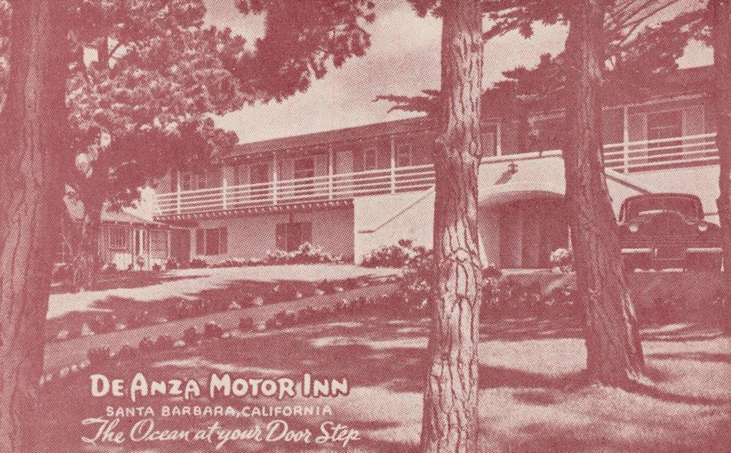 De Anza Motor Inn - Montecito, California