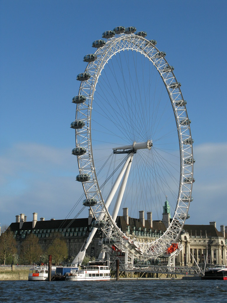 the london eye big wheel tourist attraction london engla flickr