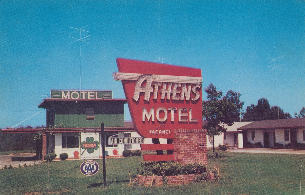 Athens Motel - Athens, Georgia