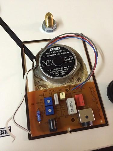 Rega Rp1 Motor Upgrade New Motor Installed Just Need To S Flickr