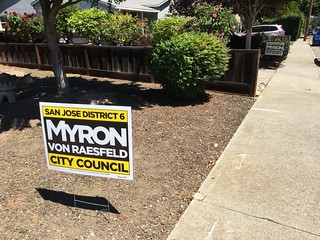 Myron Von Raesfeld sign Willow Glen 7 June 2016