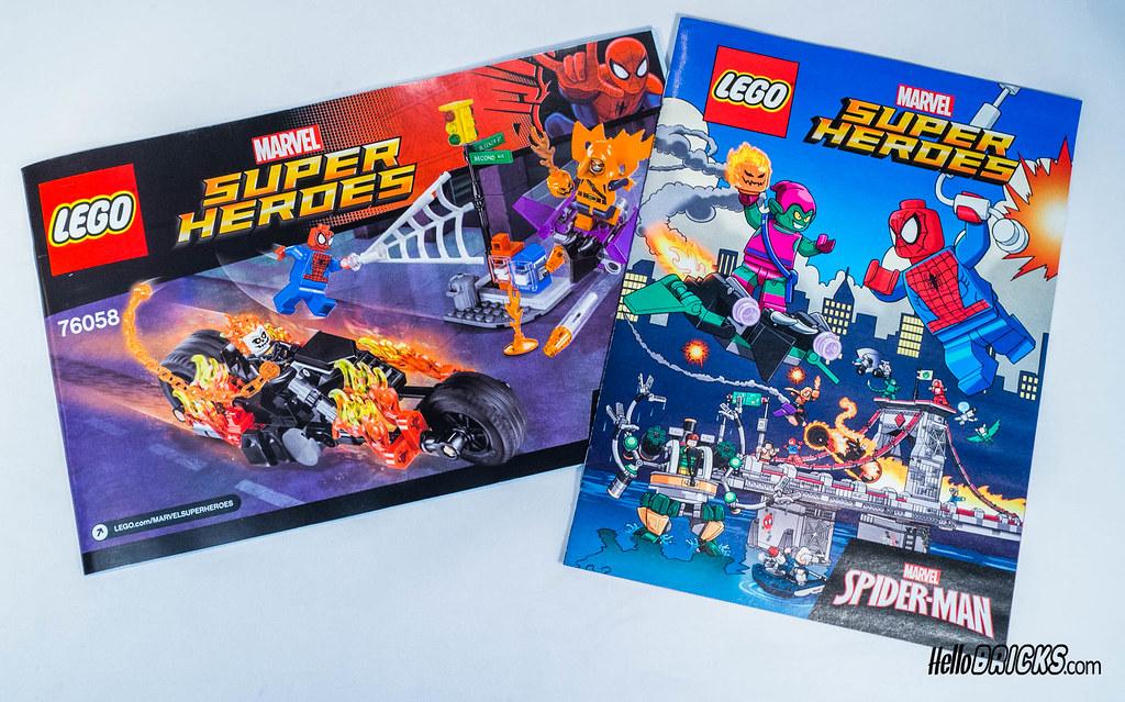 Lego 76058 - Marvel Spiderman - Ghost Rider Team-up | Flickr