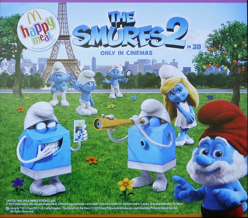 Mcdonald S Happy Meal Toys 2013 : Mcdonald s happy meal toys september smurfs flickr