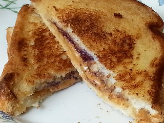 Toasted PB&J Sandwich | by Double_Nickel