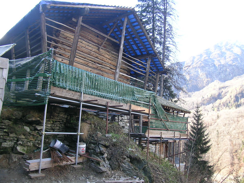 Walser Houses: Preservation of Vernacular Architecture in Alagna Valsesia, ITALY