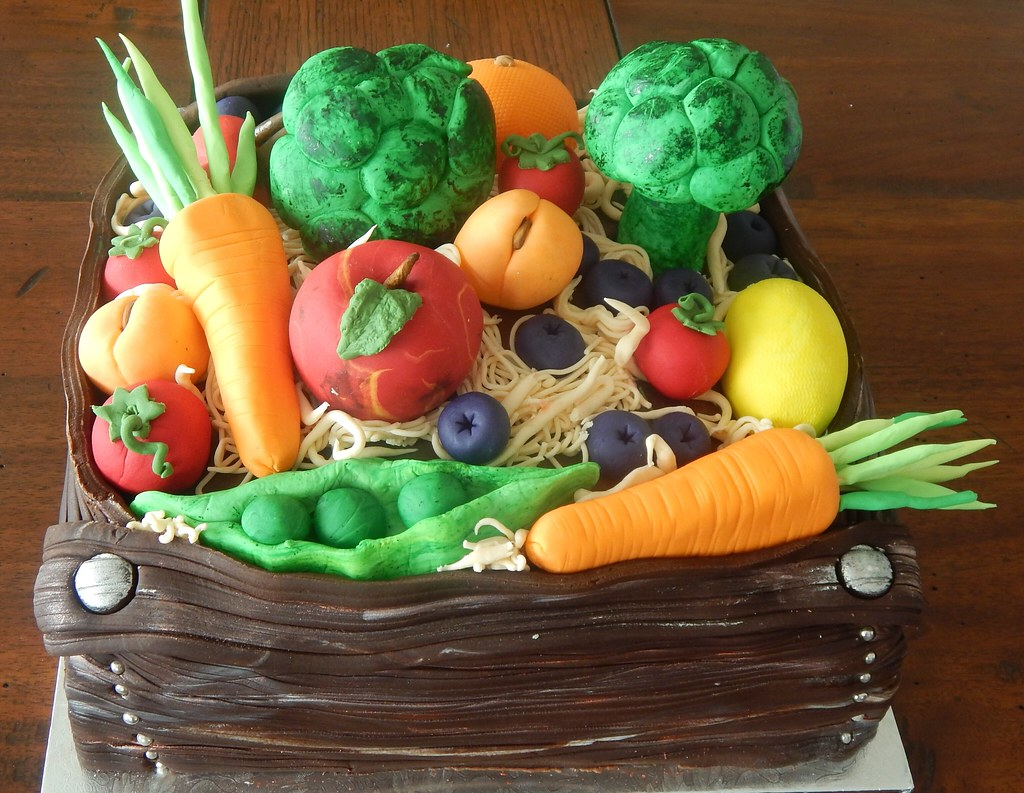 Vegetable Birthday Cake Bessemsthielens